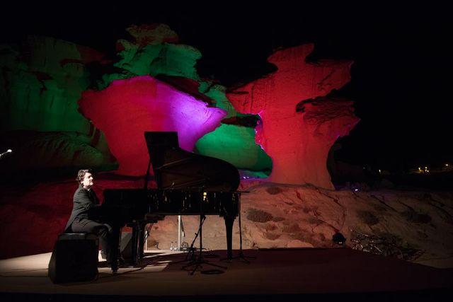 Mágico concierto de Juan Miguel Murani junto a las Erosiones de Bolnuevo - 1, Foto 1