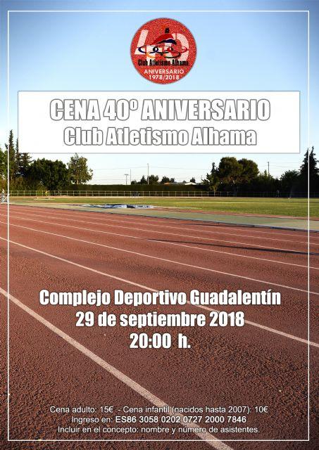 El Club Atletismo Alhama celebra su 40º Aniversario, Foto 1