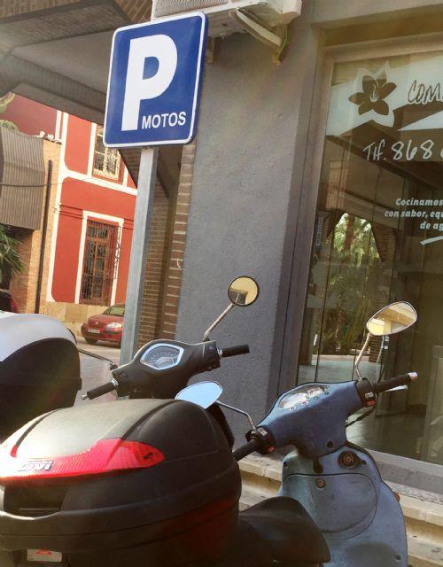Nuevos aparcamientos para bicicletas y motos en Alhama, Foto 1