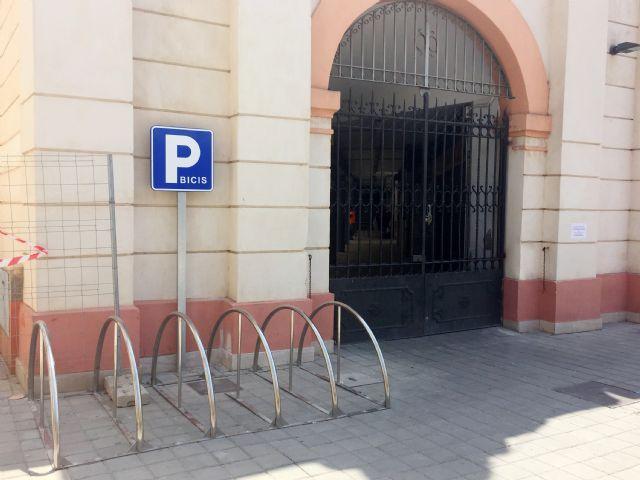 Nuevos aparcamientos para bicicletas y motos en Alhama, Foto 3