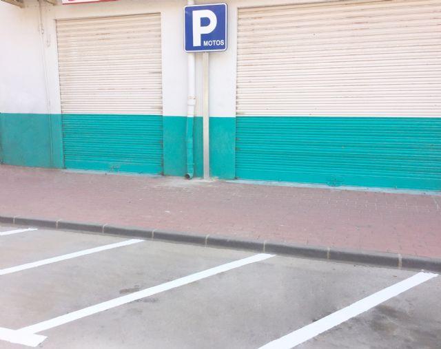 Nuevos aparcamientos para bicicletas y motos en Alhama, Foto 4