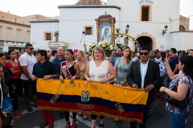 La comunidad ecuatoriana de Mazarrón y municipios limítrofes celebran las fiestas en honor a la Virgen del Cisne, Foto 1