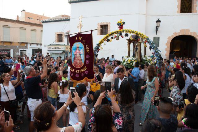 La comunidad ecuatoriana de Mazarrón y municipios limítrofes celebran las fiestas en honor a la Virgen del Cisne, Foto 2