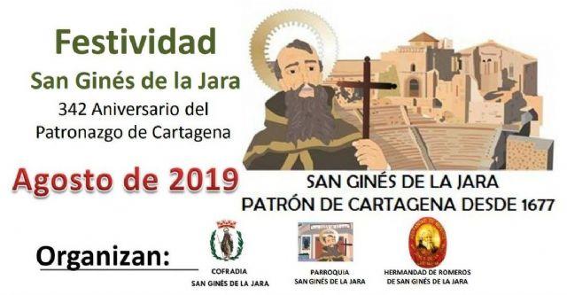 Todo listo para las fiestas en honor a San Ginés, patrón de Cartagena - 1, Foto 1