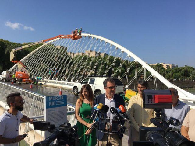 Limpieza de altura en los puentes del Segura - 3, Foto 3