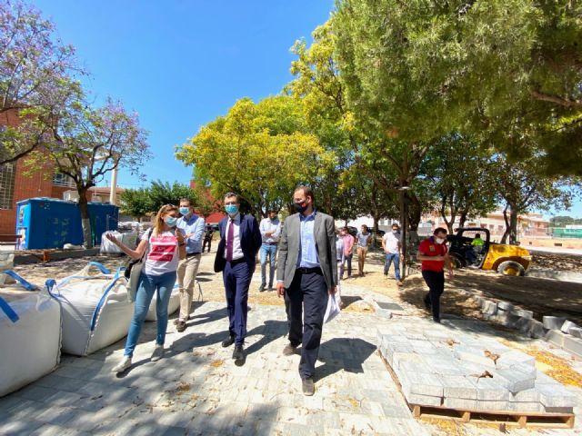 Guadalupe estrena el parque Libertad con un merendero rodeado de 150 árboles y una pérgola de 200 m2 a finales de mes - 1, Foto 1