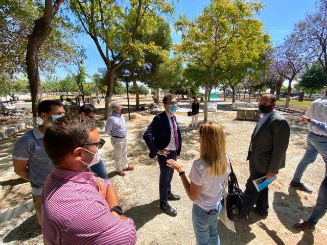 Guadalupe estrena el parque Libertad con un merendero rodeado de 150 árboles y una pérgola de 200 m2 a finales de mes - 2, Foto 2