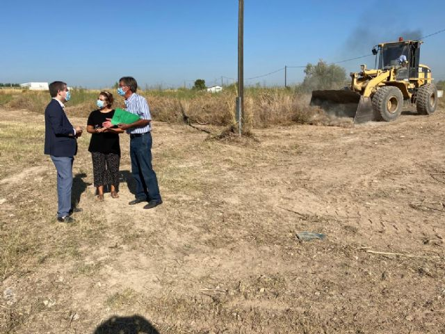 El Ayuntamiento finaliza las labores de limpieza y mantenimiento en 14 solares de Murcia y pedanías - 1, Foto 1