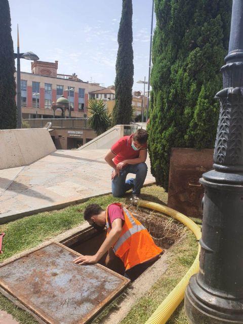 Protección Civil acomete trabajos de revisión técnica en más de 150 hidrantes distribuidos por el casco urbano y el polígono industrial - 2, Foto 2