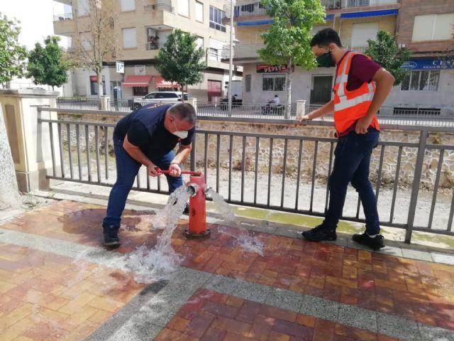 Protección Civil acomete trabajos de revisión técnica en más de 150 hidrantes distribuidos por el casco urbano y el polígono industrial - 3, Foto 3