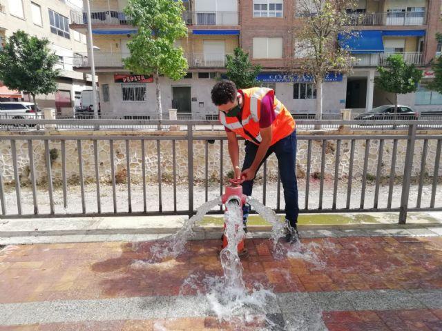 Protección Civil acomete trabajos de revisión técnica en más de 150 hidrantes distribuidos por el casco urbano y el polígono industrial - 5, Foto 5