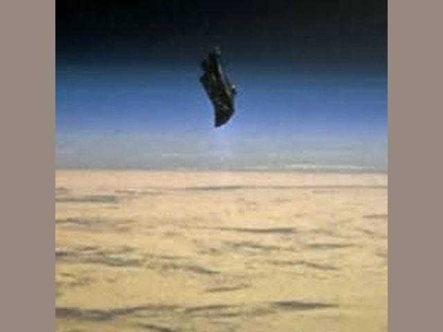 El Caballero Negro (Black Knight satellite) - 1, Foto 1