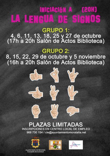 Comienza el curso de lengua de signos en benizar - 4, Foto 4