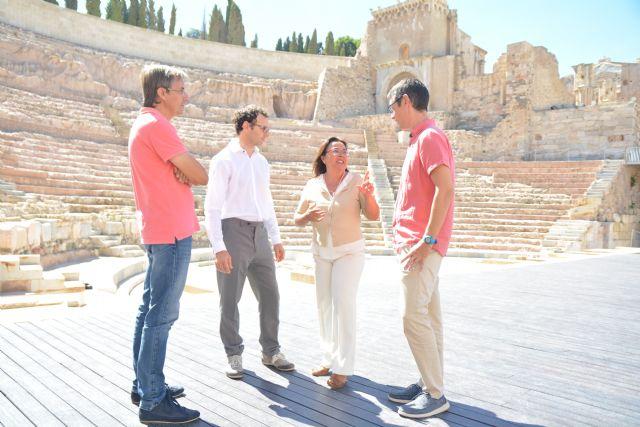 Investigadores de la UPCT aplican nanopartículas puras para consolidar sillares de arenisca del Teatro Romano - 2, Foto 2