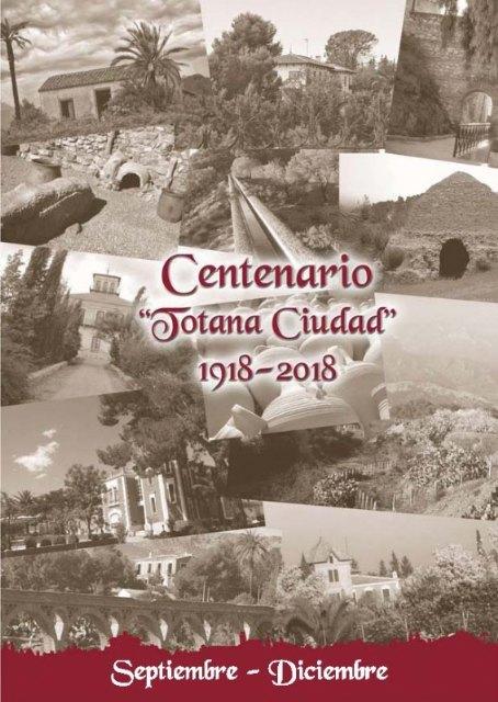 M�s de una decena de actividades completan el programa de actos culturales y sociales para culminar el �ltimo cuatrimestre del Centenario de la Ciudad 1918-2018, Foto 3