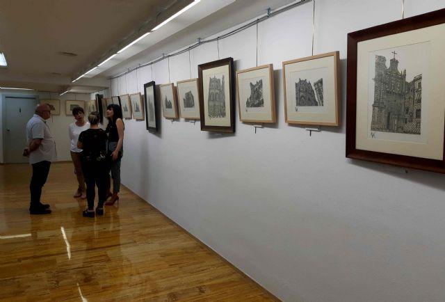 El artista Ramón Rubio González expone en Caravaca 'Miradas sobre la Catedral de Murcia' - 2, Foto 2
