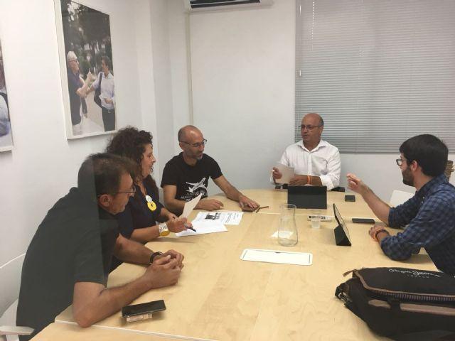 """Ciudadanos denuncia que """"la nefasta gestión del PP"""" puede dejar en el paro a muchos trabajadores del aeropuerto de San Javier - 1, Foto 1"""