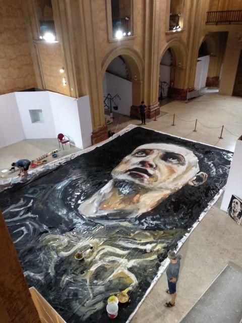 El lunes se celebran puertas abiertas en la Compañía para admirar el lienzo de San Juan de la Cruz de Santiago Ydáñez - 1, Foto 1
