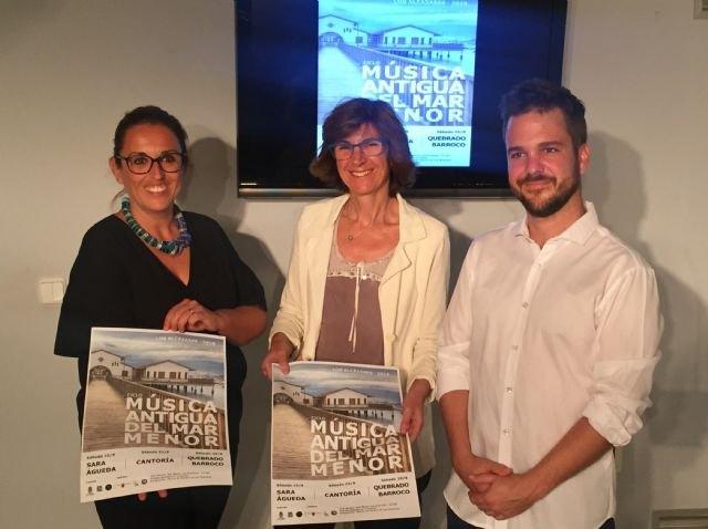 Los Alcázares acoge a partir de mañana la primera edición del Ciclo de Música Antigua del Mar Menor, Foto 1