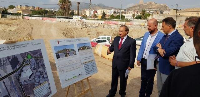 El segundo tramo de la Ronda Central de Lorca cruzará el río Guadalentín con un nuevo puente - 1, Foto 1