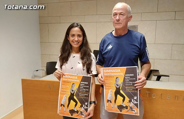 "Start the maintenance gymnastics program for the 2018/19 season in the Municipal Gym ""La Cárcel"" - 1"