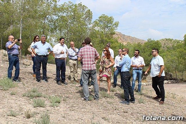 Ciudadanos reitera su apoyo a la preservación y puesta en valor de nuestro patrimonio durante su visita al yacimiento argárico de La Bastida en Totana - 2, Foto 2