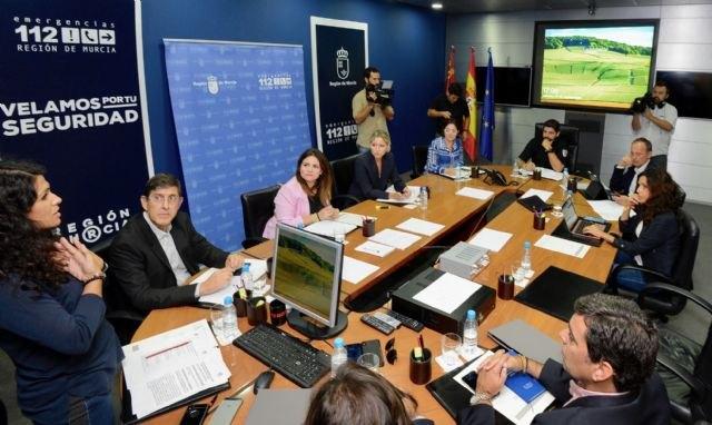 El Consejo de Gobierno solicita al Estado la declaración de zona catastrófica para la Región de Murcia