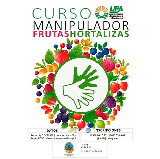 La concejalía de Agricultura programa un 'Curso de Manipulador de Frutas y Hortalizas' - 1, Foto 1