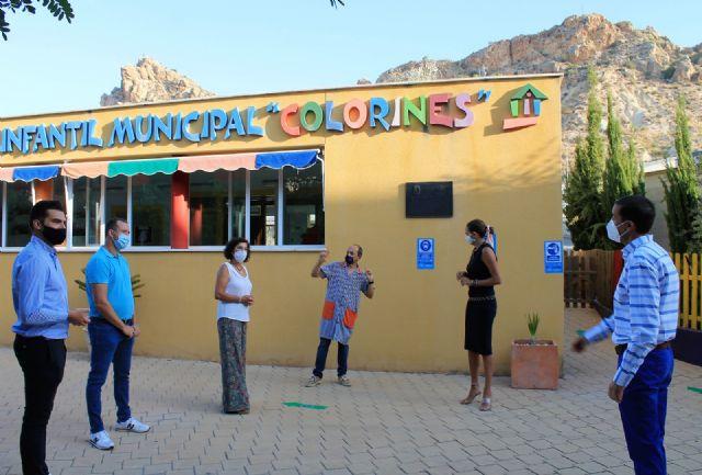 La alcaldesa de Archena inaugura el curso escolar con total normalidad y con extremas medidas de seguridad frente a la Covid-19 - 1, Foto 1
