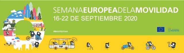 Concursos de dibujo, fotografía y diseño y un día sin coches para celebrar la Semana Europea de la Movilidad en Alcantarilla - 1, Foto 1