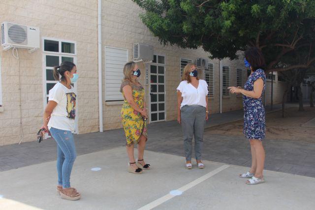 Arranca el curso 2020-2021 en los colegios de San Pedro del Pinatar, marcado por las medidas anti Covid-19 - 1, Foto 1