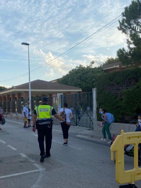 Arranca el curso 2020-2021 en los colegios de San Pedro del Pinatar, marcado por las medidas anti Covid-19 - 3, Foto 3