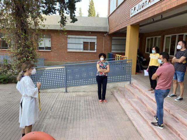 El curso escolar comienza con normalidad y seguridad en los centros educativos de Puerto Lumbreras - 2, Foto 2