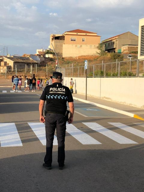 El curso escolar comienza con normalidad y seguridad en los centros educativos de Puerto Lumbreras - 3, Foto 3
