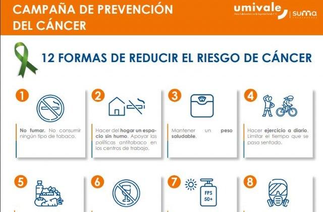 AECC Valencia y umivale lanzan una campaña anual de prevención contra el cáncer - 1, Foto 1