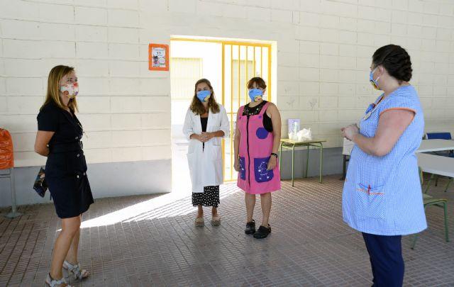 Más de 28.000 alumnos de Infantil y Primaria del municipio de Murcia inician el curso escolar 2020/2021 - 4, Foto 4