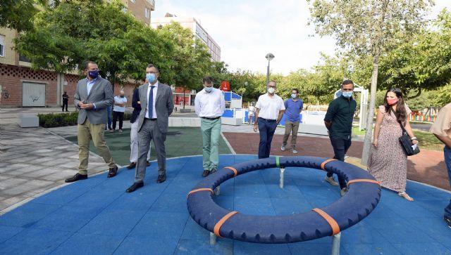 Una gran área verde familiar de 6.000 m2 se abre en el nuevo eje peatonal entre Ronda Sur y Santiago el Mayor - 1, Foto 1