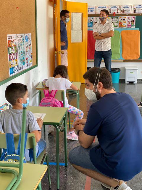 Alumnos y alumnas de Educación Infantil, Primaria y Secundaria de Torre Pacheco vuelven a las clases presenciales - 1, Foto 1