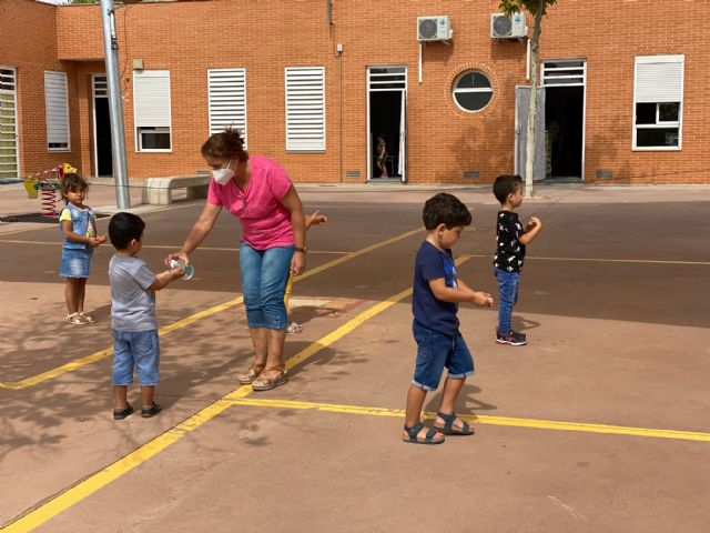 Alumnos y alumnas de Educación Infantil, Primaria y Secundaria de Torre Pacheco vuelven a las clases presenciales - 2, Foto 2