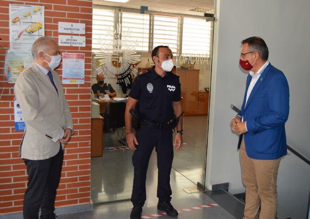 El portavoz del grupo socialista en la Asamblea Regional, Diego Conesa, visita Las Torres de Cotillas - 2, Foto 2
