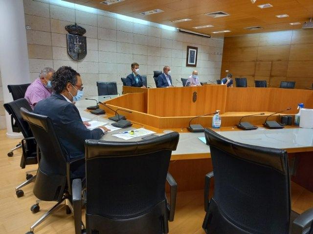 [El Pleno exige a Adif que no licite la línea de Alta Tensión de la catenaria del AVE ni que corte el servicio de Cercanías a partir de octubre