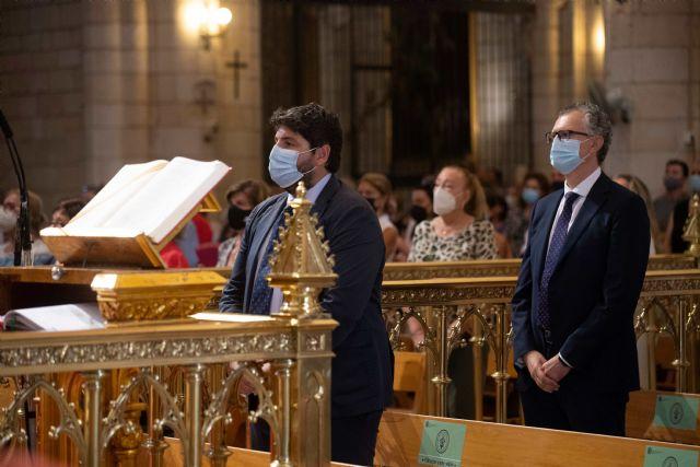 López Miras asiste a la misa en honor a la Virgen de la Fuensanta - 2, Foto 2