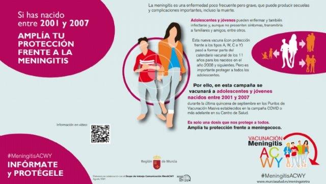 Alhama vacunará frente a meningococo el jueves 23 de septiembre, Foto 1