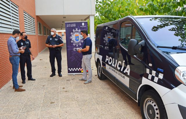 La Policía Local de Las Torres de Cotillas incorpora un nuevo vehículo a su servicio - 2, Foto 2
