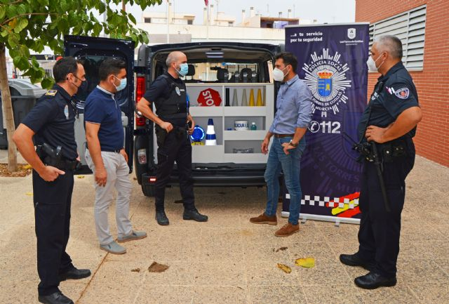 La Policía Local de Las Torres de Cotillas incorpora un nuevo vehículo a su servicio - 4, Foto 4