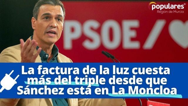 El PP pedirá en el Pleno del próximo que el Gobierno del socialista Pedro Sánchez baje el recibo de la luz - 1, Foto 1