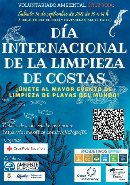 Fin de semana medioambiental, para los voluntarios de Cruz Roja de Águilas - 1, Foto 1