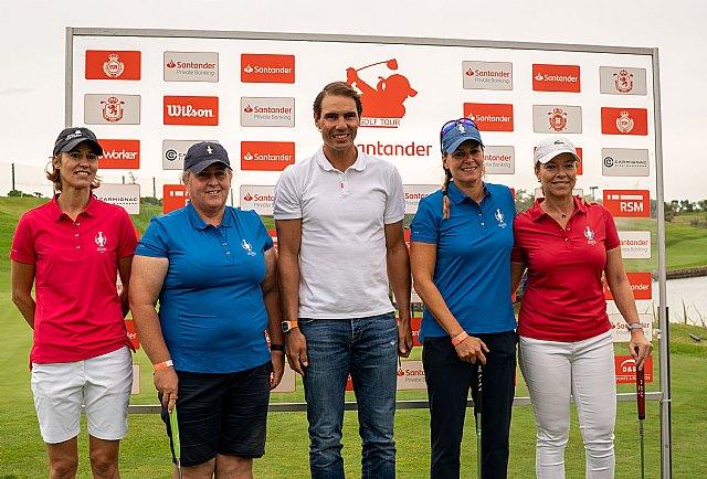 Rafa Nadal da sus primeros pasos tras la operación, en el Santander Golf Tour - 1, Foto 1