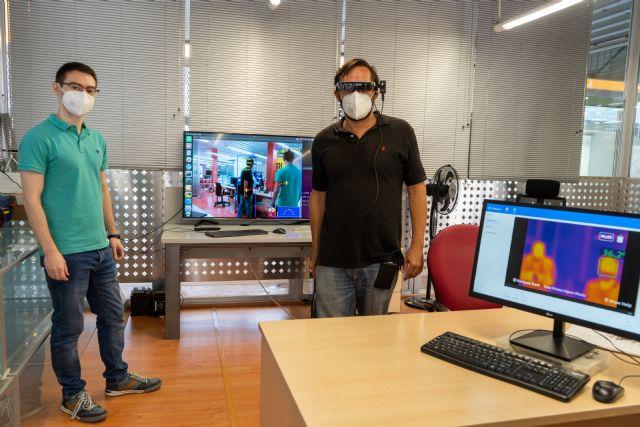 Inteligencia artificial contra el Covid: gafas de visión térmica y una cámara que mide la distancia interpersonal - 1, Foto 1