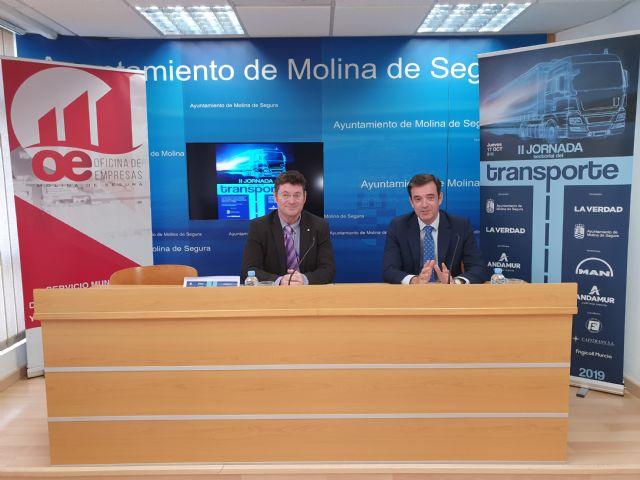 La II Jornada Sectorial del Transporte analizará en Molina de Segura la situación actual del sector, sus retos de futuro y el impacto del Brexit - 1, Foto 1
